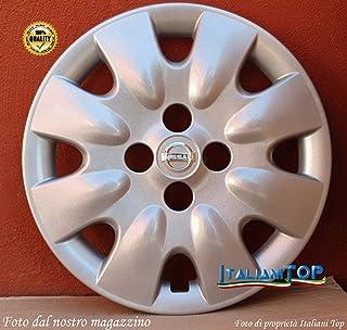 Copre ruota 4 prezzi 15 Logo cromato Micra