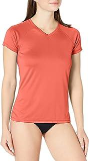 Kanu Surf Women's UPF 50+ Short Sleeved Active Swim Shirt Rashguard & Workout Top