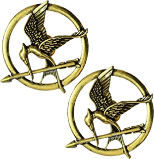 "Hunger games Fashion-Broche in ottone per donna o uomo, motivo ""Ridicolo Bird"", stile punk rock, vintage e #REF!, colore: ..."