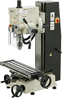 SHOP FOX M1111 6-Inch by 21-Inch Mill and Drill
