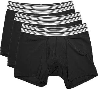 Mr. Davis Men's Mid Cut Boxer Brief Underwear - 3 Pack