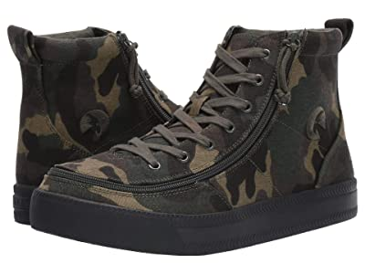 BILLY Footwear Classic Lace High Canvas (Camo) Men