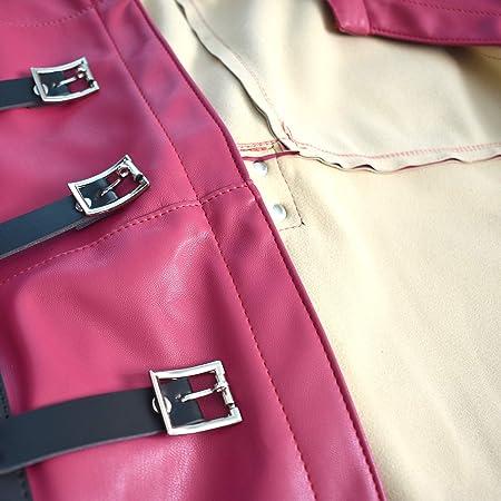 Camisa de fuerza suave hecha del cuero artificial para cerrar ...