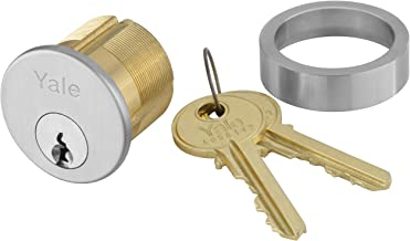 Yale 2153X1-1/8 x 626 Mortise Cylinder, Para Keyway, Keyed Random, 6 Pin, 1 1/8