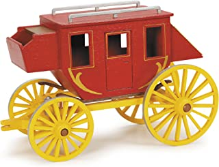 Darice 9193-02 Premium Wood Kit, Stagecoach