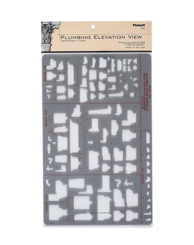 Pickett Plumbing Elevation View Template (1162I)