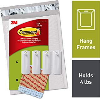 Command Sawtooth Picture Hangers, White