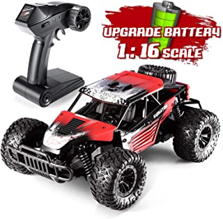 Leapdream RC Cars Remote Control Car for Adults1:16 Scale RC Trucks Hobby RC Cars for Kids with 2020 Upgraded Rechargeable Battery 2.4Ghz High Speed Off Road Racing Car