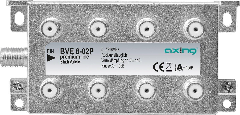 Axing Bve 6 02p 6 Fach Bk Verteiler Für Kabelfernsehen Elektronik