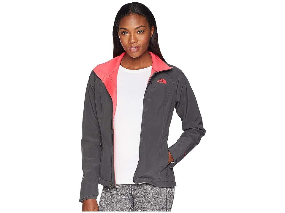 The North Face Apex Bionic Jacket (Asphalt Grey/Atomic Pink) Women