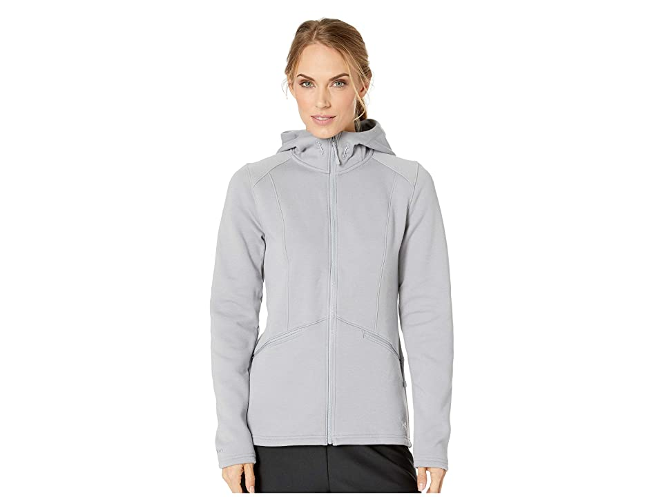 Under Armour UA Seeker Hoodie (Steel/Overcast Gray/White) Women