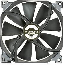 Phanteks PH-F140SP_BBK_1200RPM, Case/Radiator Fan, Frame/Blades, Black