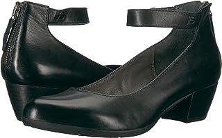 حذاء نسائي بكعب منخفض من Josef Seibel أسود 3. 8 M