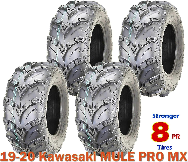 4 Max 64% OFF Premium WANDA 8PR Mud Sling 25x10x12 Tires ATV Kawas 19-20 Department store fit