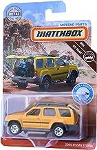Matchbox 2000 Nissan Xterra, Yellow