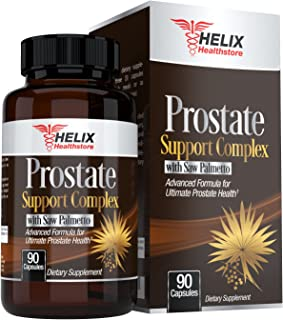 Prostate Supplement for Men with Saw Palmetto Extract for Prostate Health Support plus Beta Sitosterol Zinc and Pygeum Complex - Best for Enlarged Prostate - Frequent Urination - Hair Loss DHT Blocker