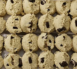 David's Cookies Frozen Cookie Dough, Preformed Chocolate Chunk, 43 Ounce