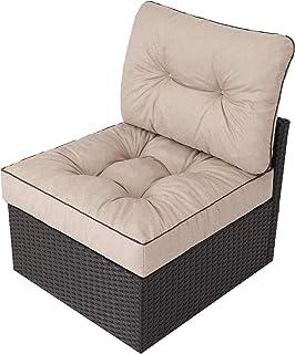 Coussin de jardin, pour chaise, fauteuil rotin, fauteuil jardin, coussin fauteuil rotin, coussin fauteuil jardin - Taille ...