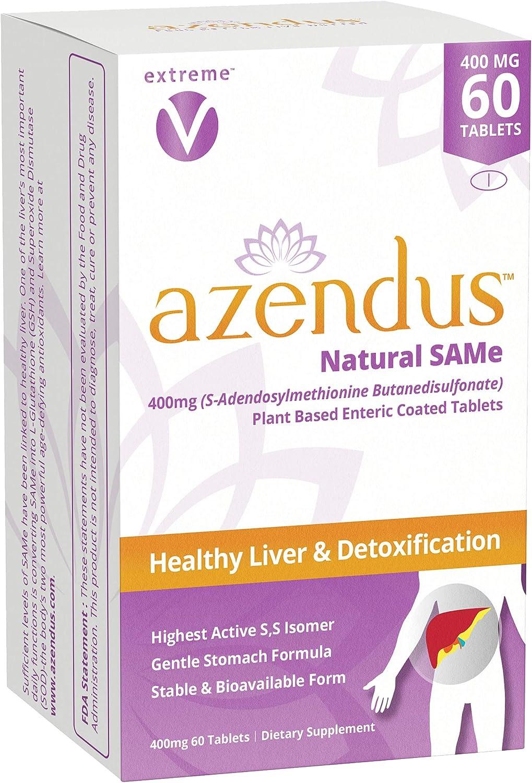 Sales results No. 1 Azendus SAM-e Liver Support Dallas Mall 400mg Same Count 60 Butanedisulfon