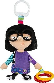 Lamaze Disney/Pixar Clip & Go, Edna Clip-On Stroller Toy