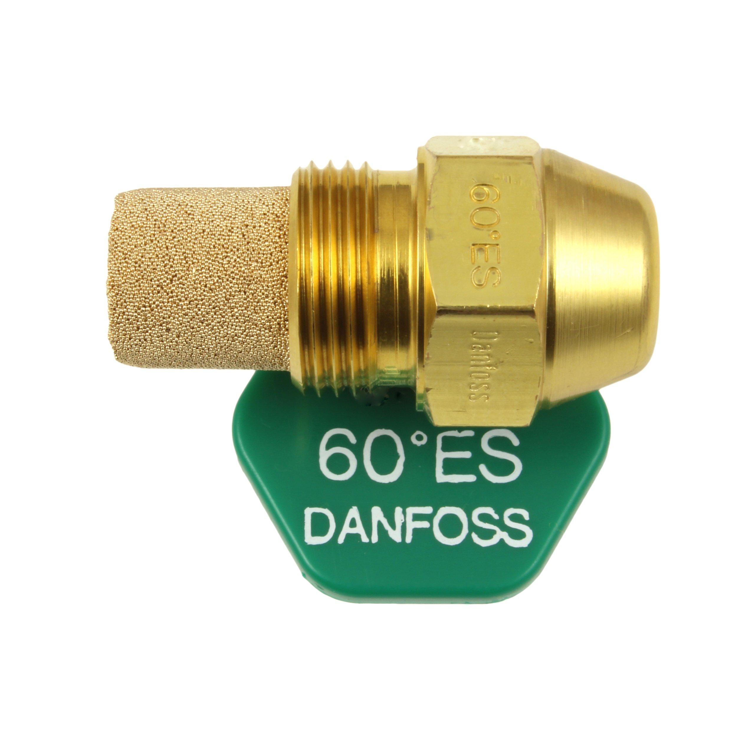 Danfoss Aceite Despedida Hervidor Quemador Boquilla 0.75 x 60 ES USgal//h /° Grados Espray Estampado Calefacci/ón Jet 2.25 Kg//h