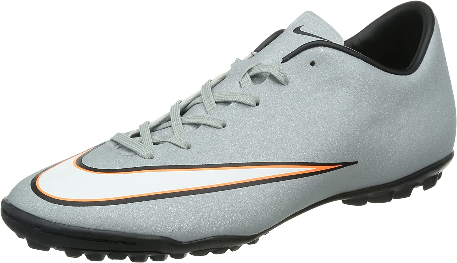 Nike Mercurial Victory V CR TF Turf Soccer Cleats Silver