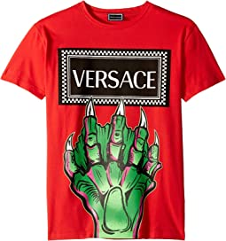 Monster Hand Logo Tee (Big Kids)
