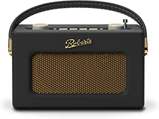 Roberts Revival Uno Compact DAB/DAB+/FM Digital Radio with Alarm, Black
