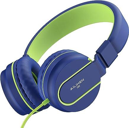 AILIHEN I35 Headphones with Microphone Lightweight...