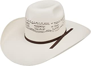 fda22200d3287 Resistol Mens Super Duty 4 1 4 Brim Straw Cowboy Hat 71 4 Natural