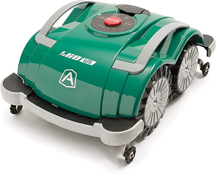 Tagliaerba robot - ambrogio robot am060l0k9z robot rasaerba, verde, 200 mq