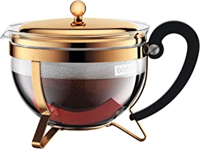 P/&F HIGH QUALITY PRODUCTS Coffee Tea Pots Stainless Steel teapot Home Kettle Commercial Coffee Table Gold with Handle Western Restaurant Hotel with Filter