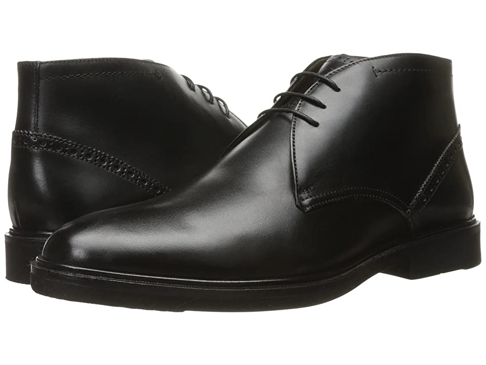Florsheim Hamilton Chukka Boot (Black Smooth) Men