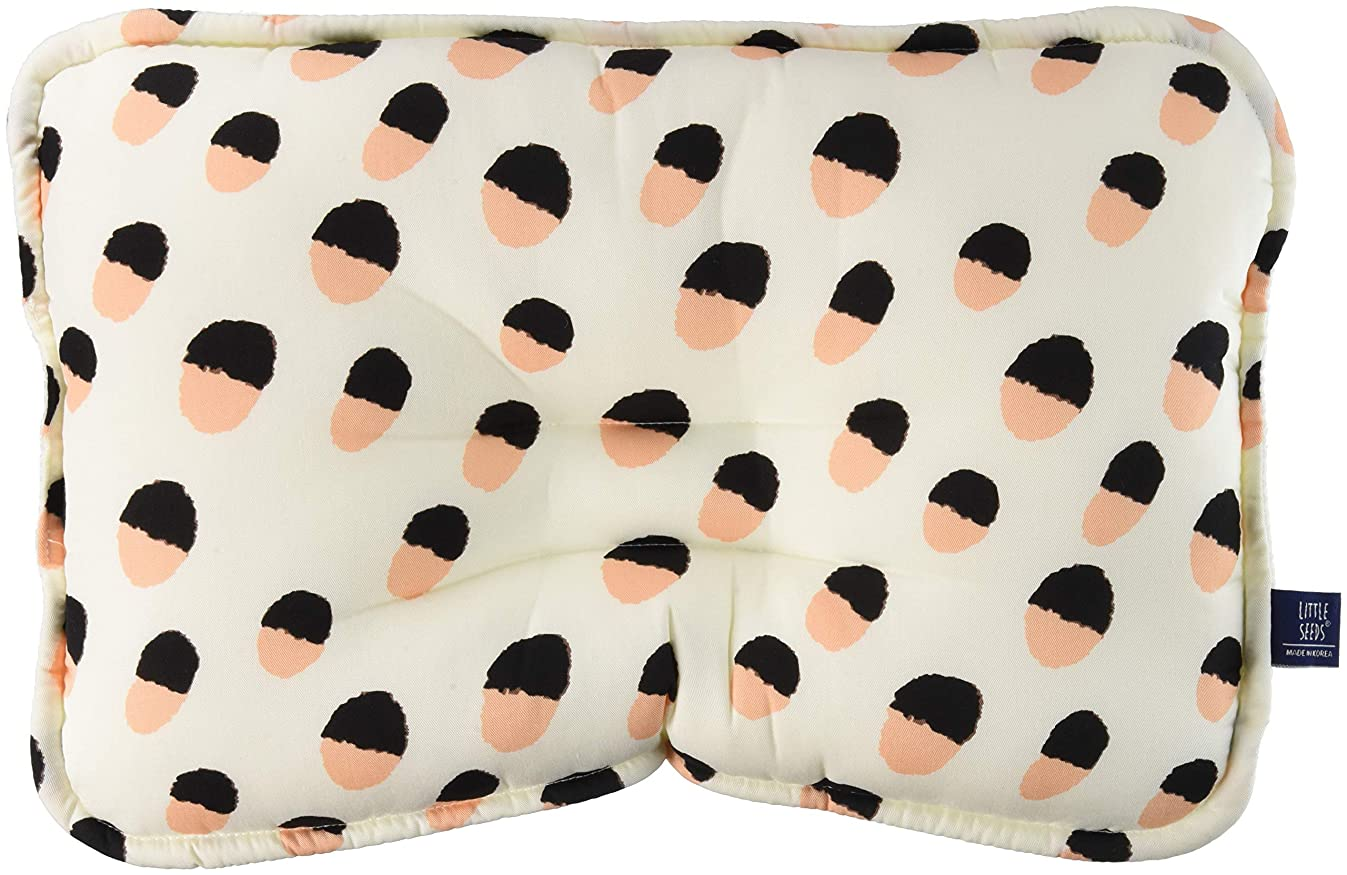 LITTLE SEEDS(リトルシード) ベビー枕 mamba オーガニックコットン100%