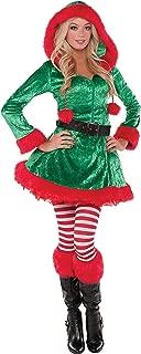 Green Sassy Elf Womens Adult Christmas Costume