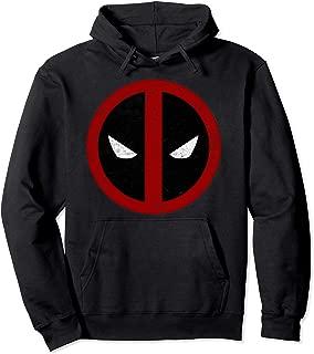 Deadpool Mask Classic Distressed Hoodie