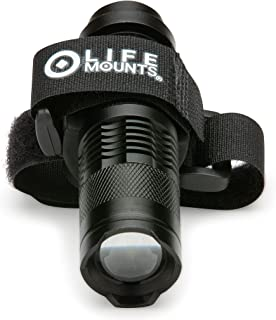 Life Mounts LED Backpack Light with Strap Mount (Black)