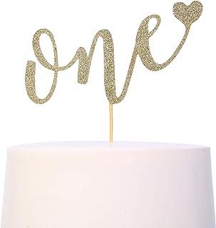کیک تولپر برای اولین بار تولد - Smash کیک Topper، کیک تولد برای عکس غرفه غرفه، لوازم لوازم تزئینی کیک خیره کننده، سالگرد اول، ONE 'کیک تولد پرچم Bunting پرچم (اولین کیک تولد تولد)