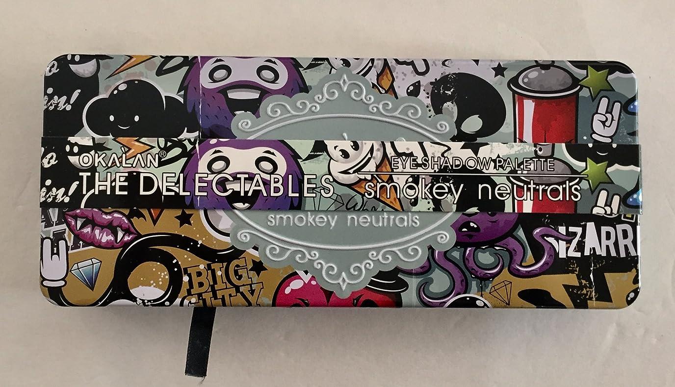 終わったちょうつがい悪化するOKALAN The Delectables Eyeshadow Palette A - Smokey Neutrals (並行輸入品)