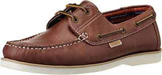 Hush Puppies Men's Boat -Lace Up Leather Boat Shoes