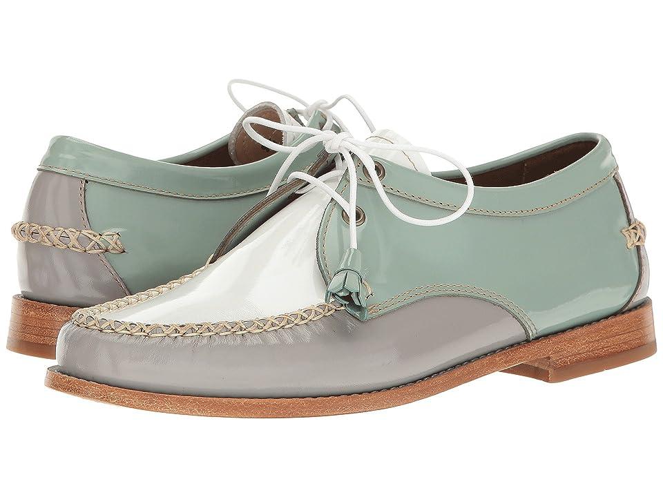 G.H. Bass & Co. Winnie Weejuns (Light Blue/Grey Patent Leather) Women