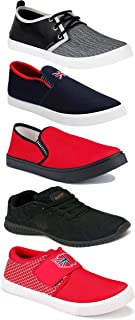 Shoefly Sports Running Shoes/Casual/Sneakers/Loafers Shoes for Men&Boys (Combo-(5)-1219-1221-1140-466-753)