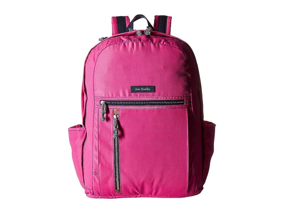 Vera Bradley Lighten Up Grand Backpack (Bright Orchid) Backpack Bags