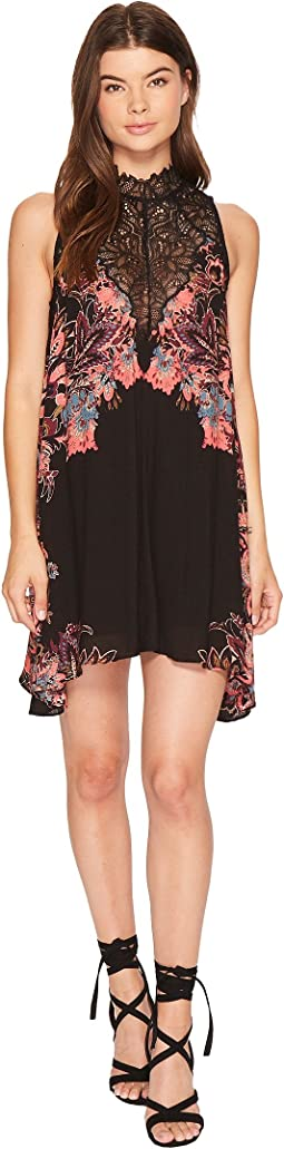 Free People - Marsha Printed Slip Dress