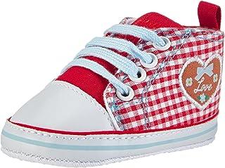 Playshoes Baskets Coeur, Chaussures Premiers Pas Mixte bébé