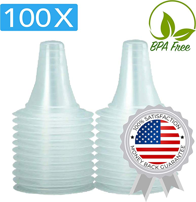 100x Ear Thermometer Probe Covers Refill Caps Lens Filters For All Braun ThermoScan Models And Other Types Of Digital Thermometers