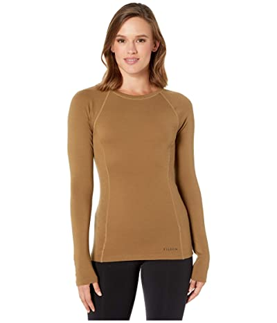 Filson 280G Merino Long Sleeve Crew (Rugged/Tan) Women