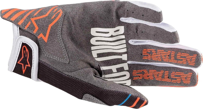 Multi, one/_size Alpinestars Unisex-Adult Youth Radar Gloves Anthracite//Orange Xs