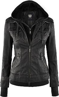4e832f58372f Amazon.com: XXL - Leather & Faux Leather / Coats, Jackets & Vests ...
