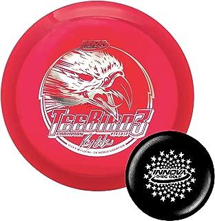 Innova Discs Ricky Wysocki Champion TeeBird3 Disc Golf Fairway Driver with Stars Stamp Innova Mini (Colors Will Vary)